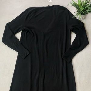 H by Halston Sweaters - H By Halston Black Duster Cardigan